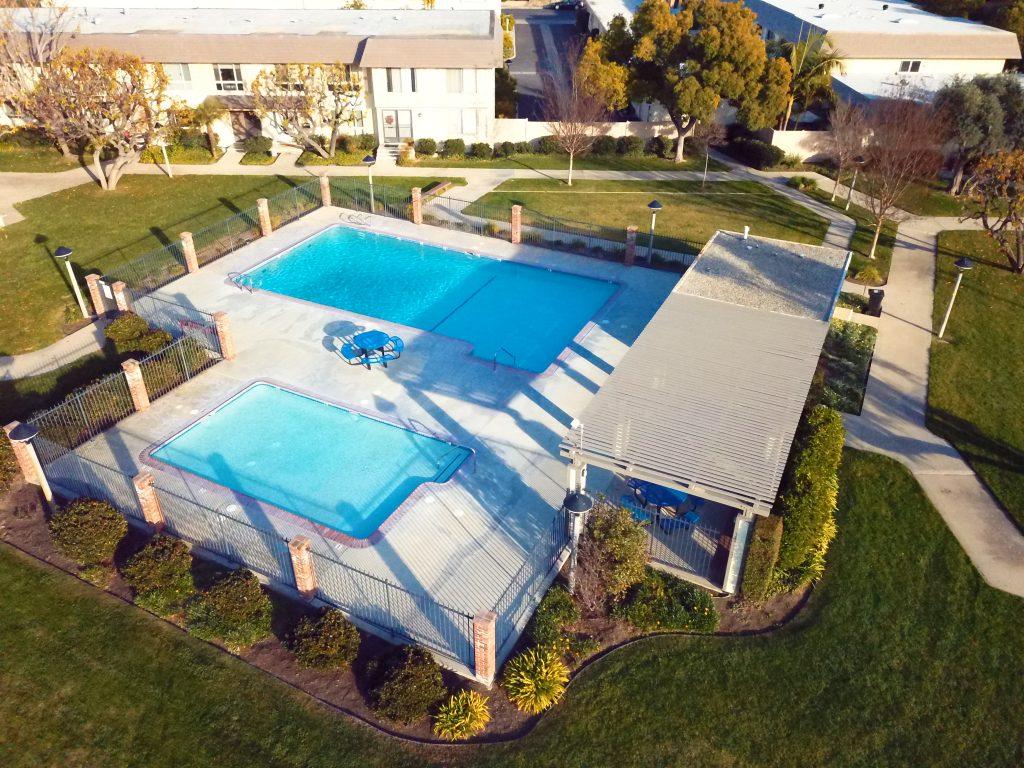 Tanglewood North in Cypress CA - Sevilla Pool